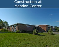 Construction at Mendon Center
